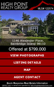 real estate listing on mobile smartphone